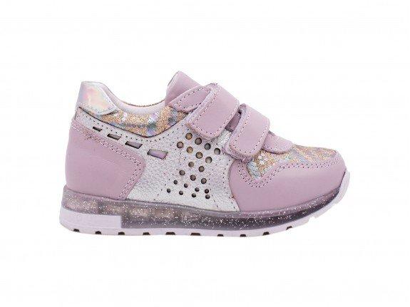 Dečija cipela srebrna model 5167-s