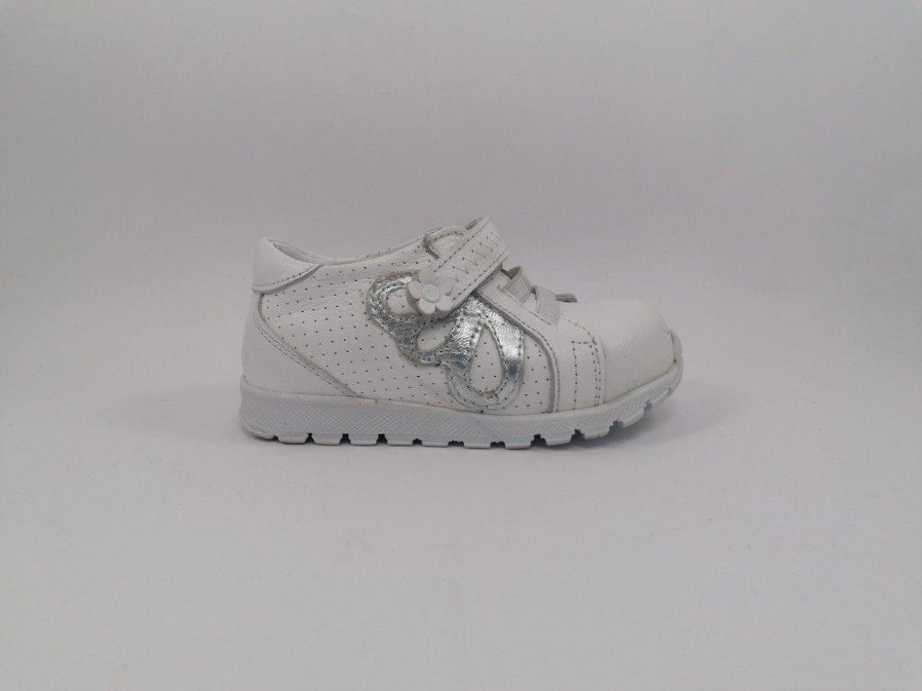 Dečija cipela bela - Model 1509-BS