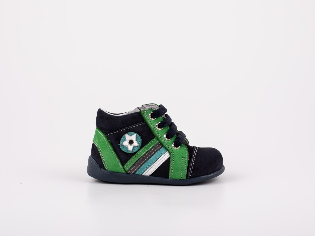 Dečija cipela teget zelena - Model 5050-tz