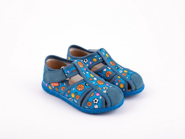 Dečija patofna plava - Model 115-6-f