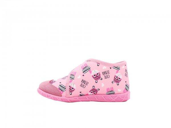 Dečija patofna roze - Model 106-10-zebra