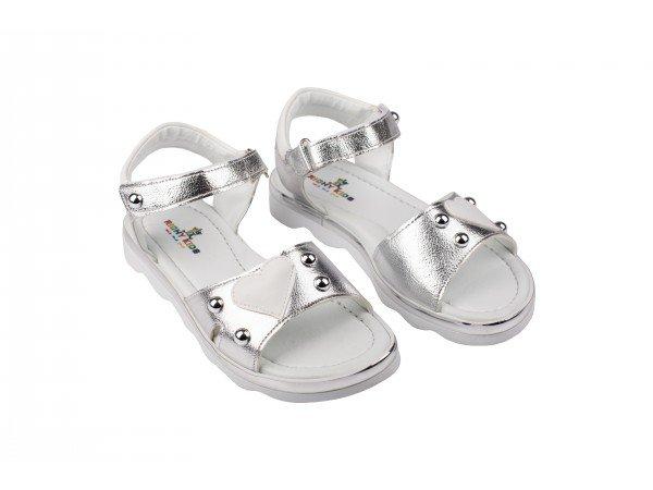 Dečija sandala srebrna model 630-s