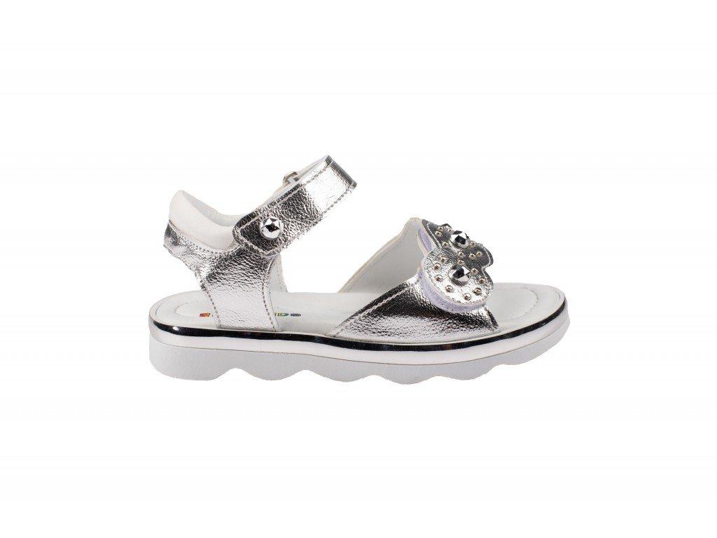 Dečija sandala srebrna model 633-s