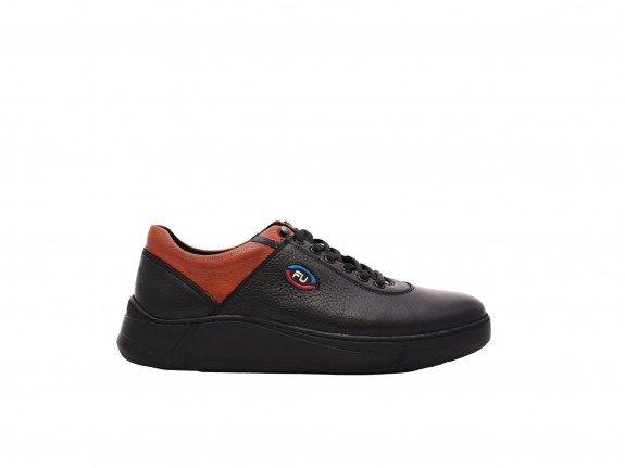 Muška cipela crno-braon model 7126-cb