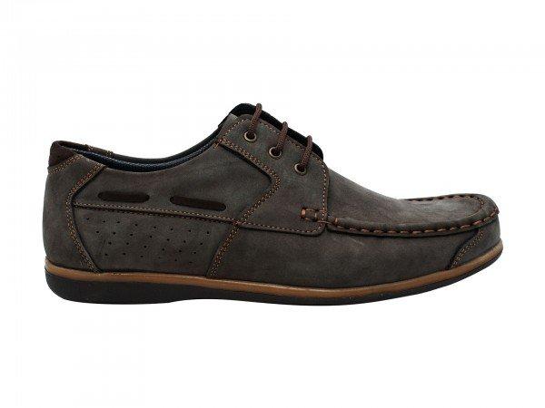 Muška cipela tamno siva model 7147-ts