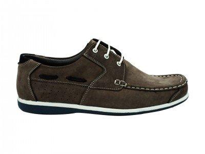 Muška cipela tamno siva - Model 7134-ts