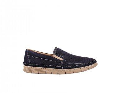 Muška cipela teget - Model 7091-t
