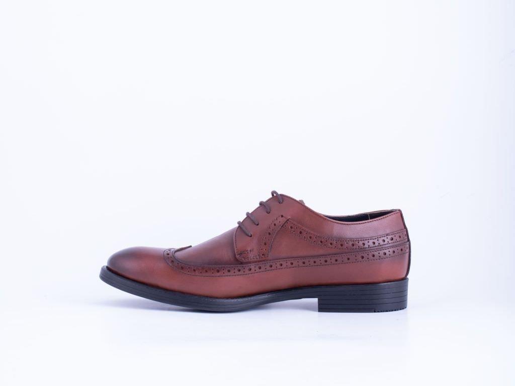 Muška kožna cipela oker - Model 7014-ok
