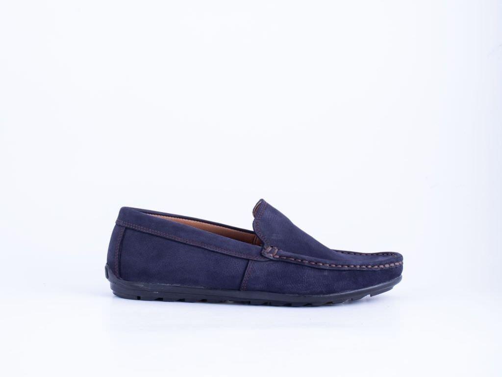 Muška kožna cipela teget - Model 7049-t