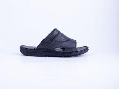 Muška kožna papuča crna - Model 7502-c