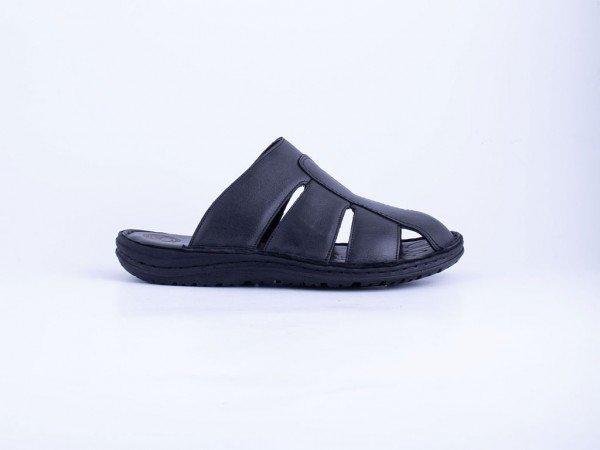 Muška kožna papuča crna - Model 7503-c