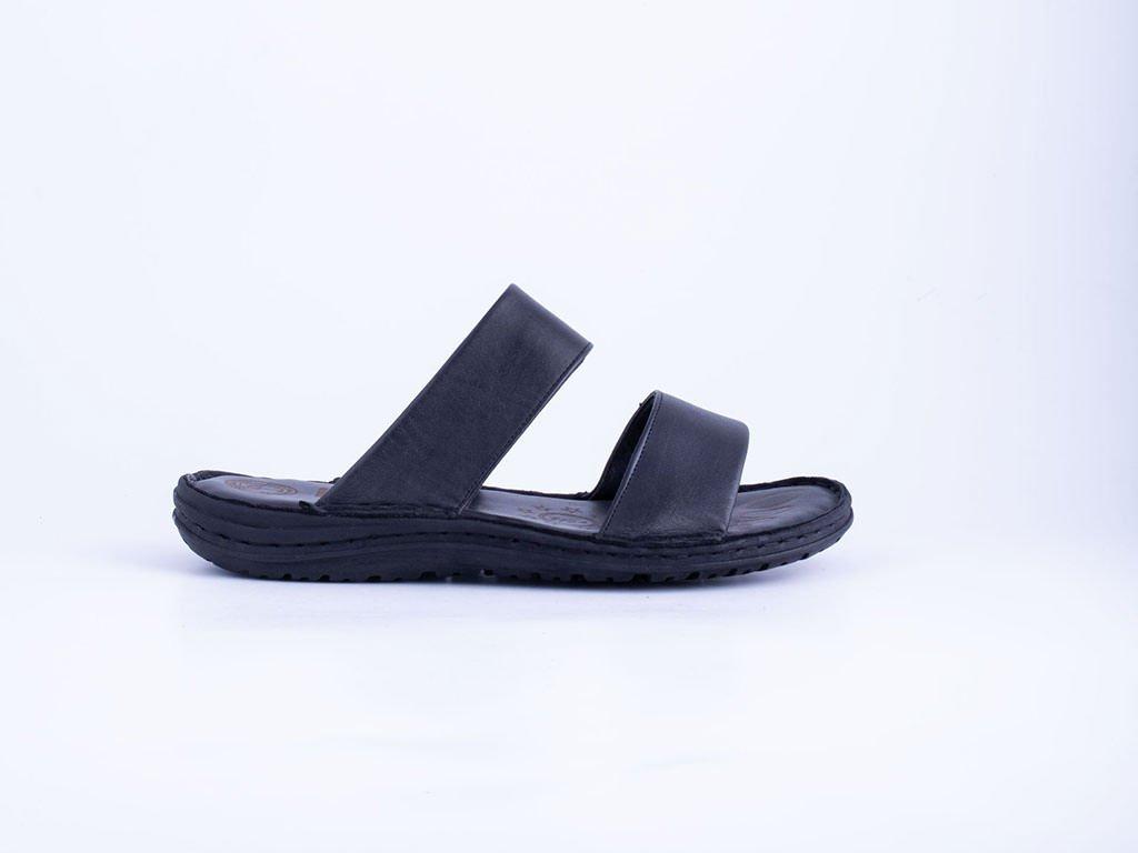 Muška kožna papuča crna - Model 7506-c