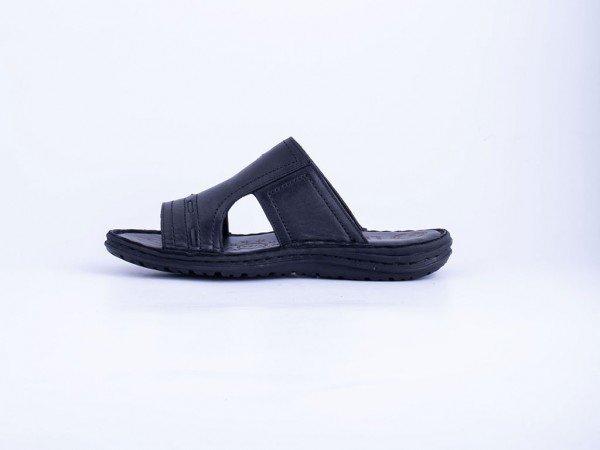 Muška kožna papuča crna - Model 7508-c