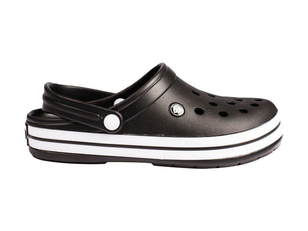 Muška papuča crna model 100 crna