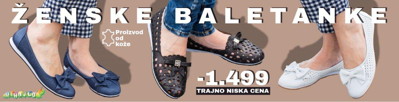 Obuca Online - Ženske Baletanke