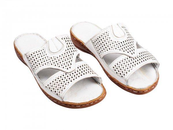 Ženska papuča bela 8304-b