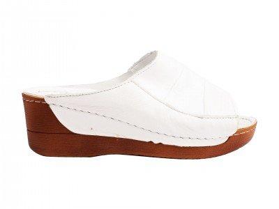 Ženska papuča bela model 8306-b