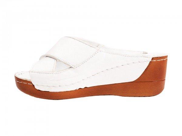 Ženska papuča bela model 8316-b