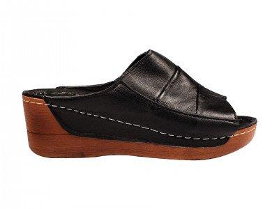 Ženska papuča crna model 8307-c