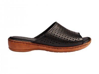Ženska papuča crna model 8313-c