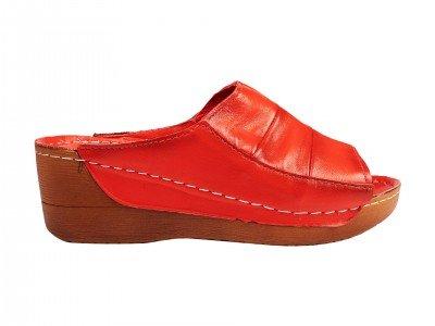 Ženska papuča crvena model 8309-kir