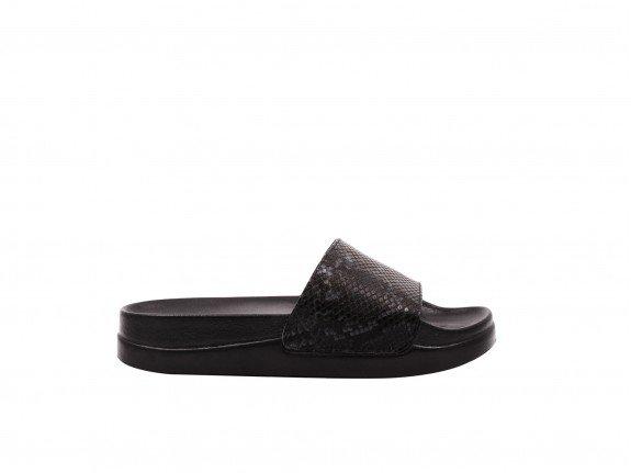 Ženska papuča crna - Model 452-11-ck
