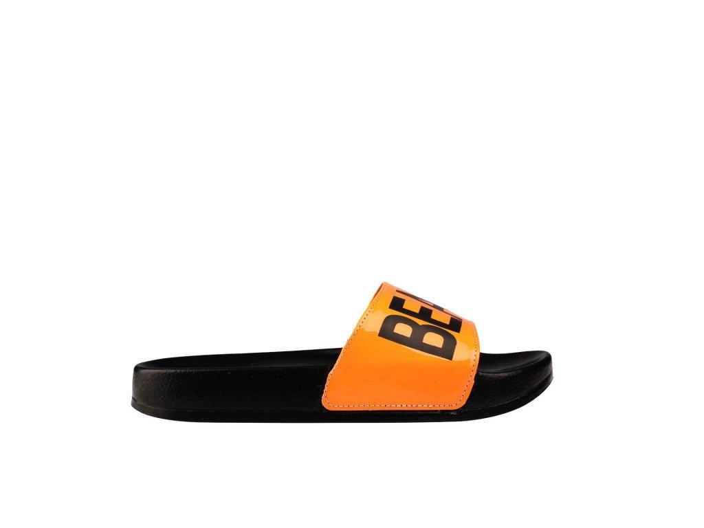 Ženska papuča crno-narandžasta - Model 452 4 n