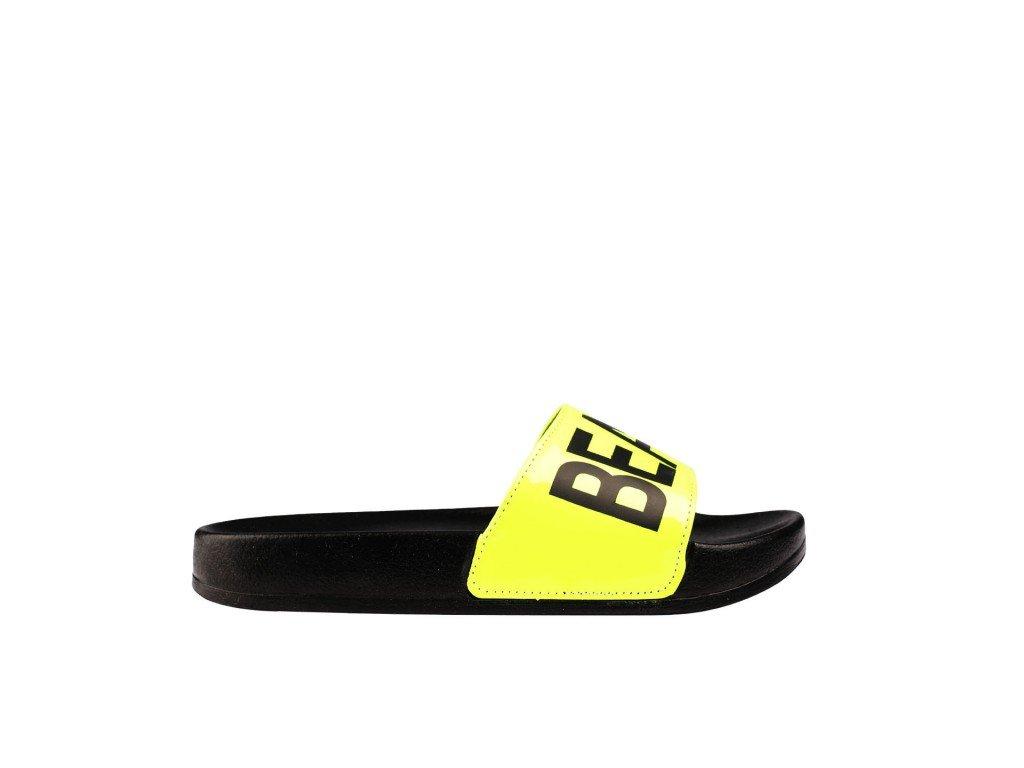 Ženska papuča crno-žuta - Model 452 3 z