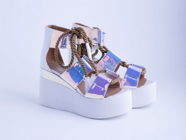 Ženska sandala bela - Model 6013-b