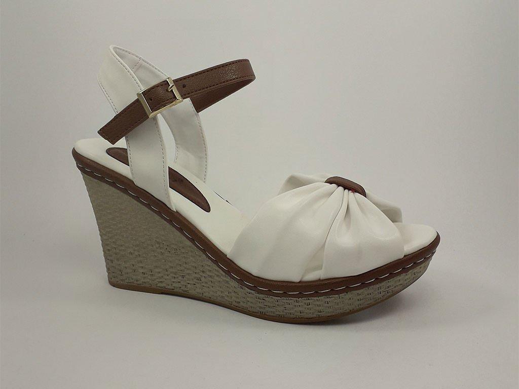 Ženska sandala bela - Model 969-B