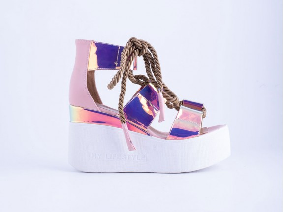 Ženska sandala roze - Model 6011-p