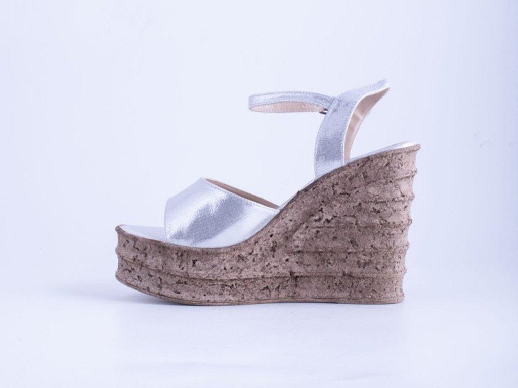 Ženska sandala srebrna - Model 947-SR