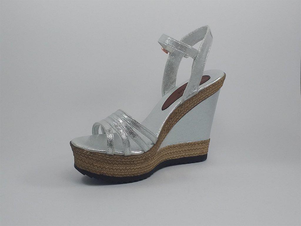 Ženska sandala srebrna - Model 954-S
