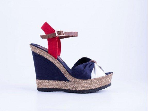 Ženska sandala teget - Model 951-l-tm