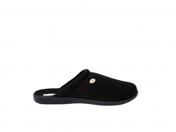 Ženska kućna papuča crna - Model 1221-1-c