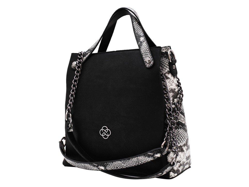 Ženska torba crna - Model 600-050-7-c