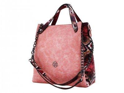 Ženska torba roze - Model 600-050-3-r